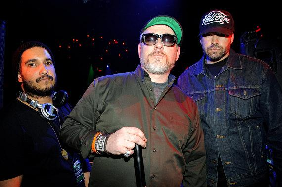 House of Pain's DJ Lego, Everlast and Danny Boy at TAO
