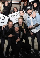 The Backstreet Boys Host After-Party at Chateau Nightclub & Rooftop in Las Vegas