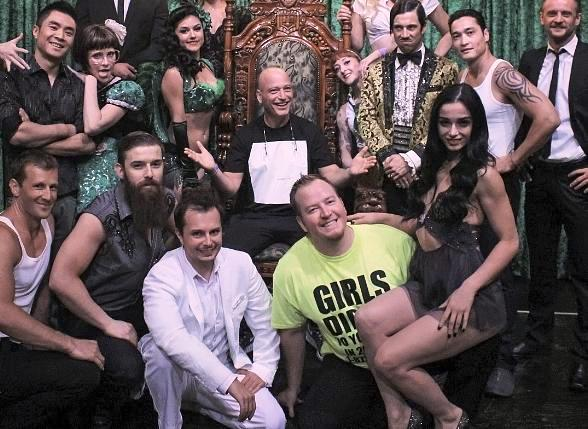 Howie Mandel Attends ABSINTHE at Caesars Palace