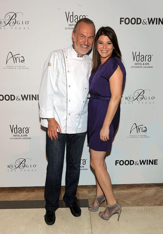 Hubert Keller and Gail Simmons