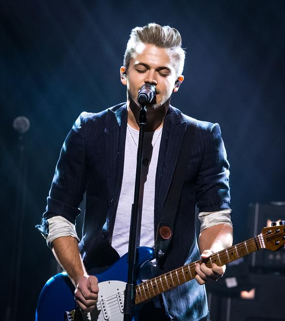 Country Music Star Hunter Hayes performs at The Cosmopolitan of Las Vegas