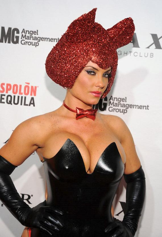 Coco on red carpet at LAX Nightclub in Las Vegas