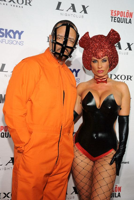 Ice-T and CoCo on red carpet at LAX Nightclub in Las Vegas