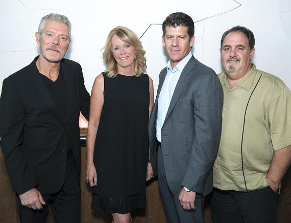 Actor Stephen Lang, IGT CEO Patti Hart,IGT CCO Darrell Rodriguez and Producer Jon Landau welcome guests to a private affair that revealed the process and inspiration behind the thrilling game series