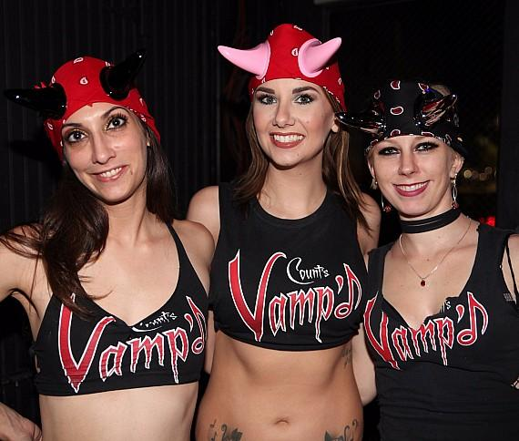 Horny Mike's Birthday celebration at Count's Vamp'd Bar & Grill in Las Vegas