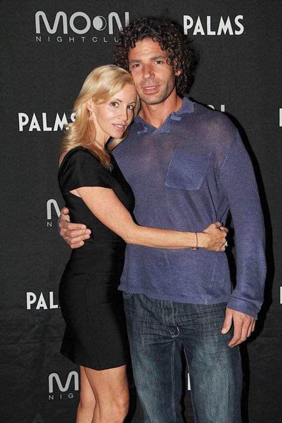 Camille Grammer and her boyfriend Dimitri Charalambopoulos