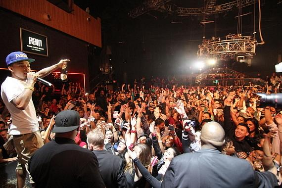 Bow Wow performs at Rain Nightclub at The Palms