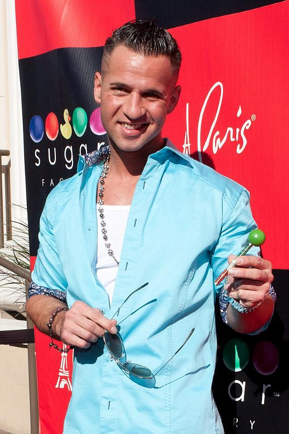 "Mike ""The Situation"" Sorrentino on Red Carpet at Sugar Factory"
