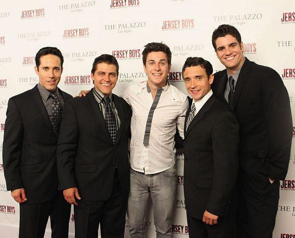From left to right: Jeff Leibow, Devin May, Disney-star David Henrie, Rick Faugno, Peter Saide