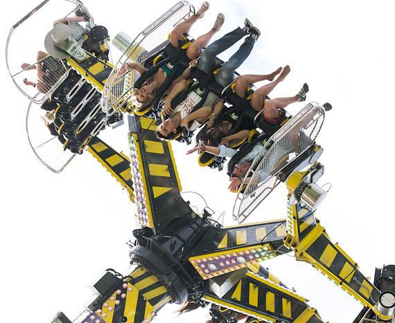 Ride at Electric Daisy Carnival in London