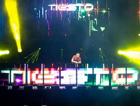 Tiesto at Electric Daisy Carnival in London