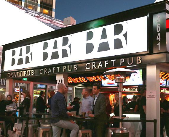 Born and Raised Craft Pub opens on The Las Vegas Strip