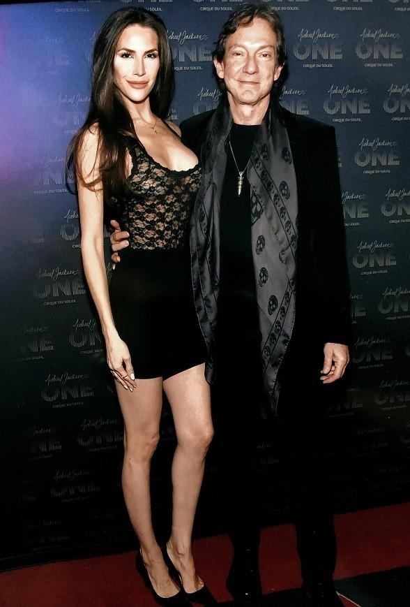 """Michael Jackson ONE"" Executive Producer John Branca with Fiance Jenna Hurt"
