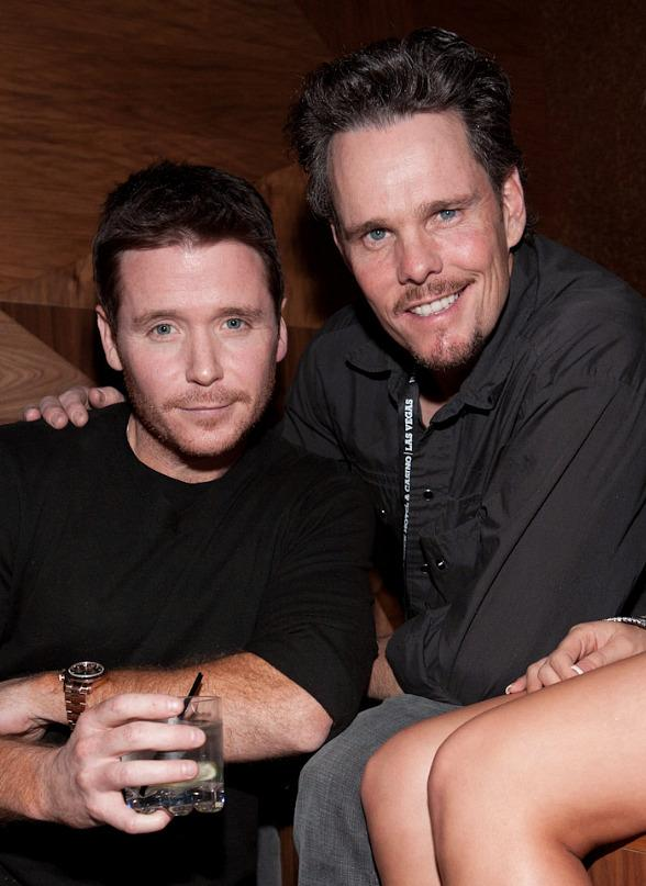 Kevin Connolly and Kevin Dillon of Entourage