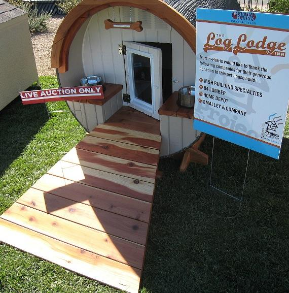 Pet house to be auctioned