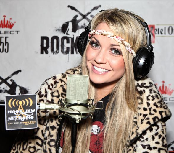 Angel Porrino on Hook Jaw Net Radio at The Rockhouse in Las Vegas