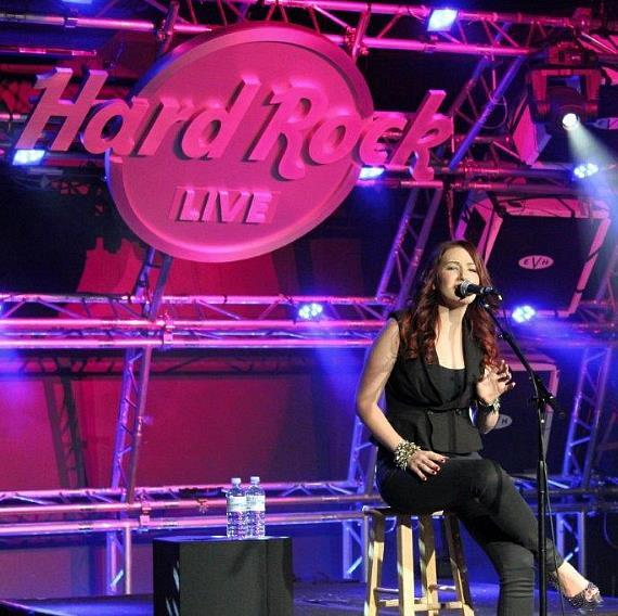Country Artist Katie Armiger performs at Hard Rock Live in Las Vegas