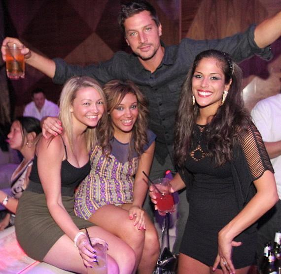 MTV's The Real World: Las Vegas cast members at Vanity Nightclub