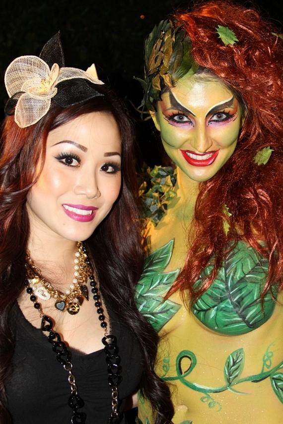 Maile B of Vdara Spa Salon and her 'Poison Ivy in Sin City' creation