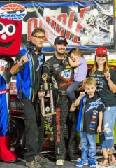 Dustin Ash Achieves Career Milestone with Late Model Truck Series Victory