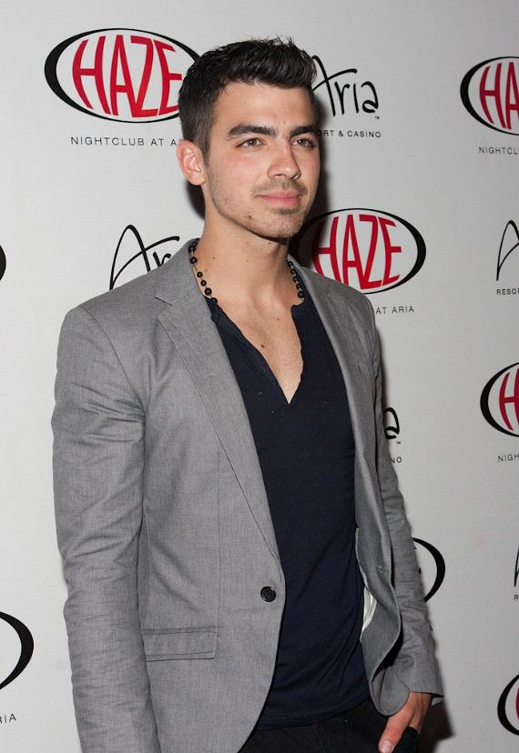 Joe Jonas at HAZE Nightclub at ARIA Resort & Casino