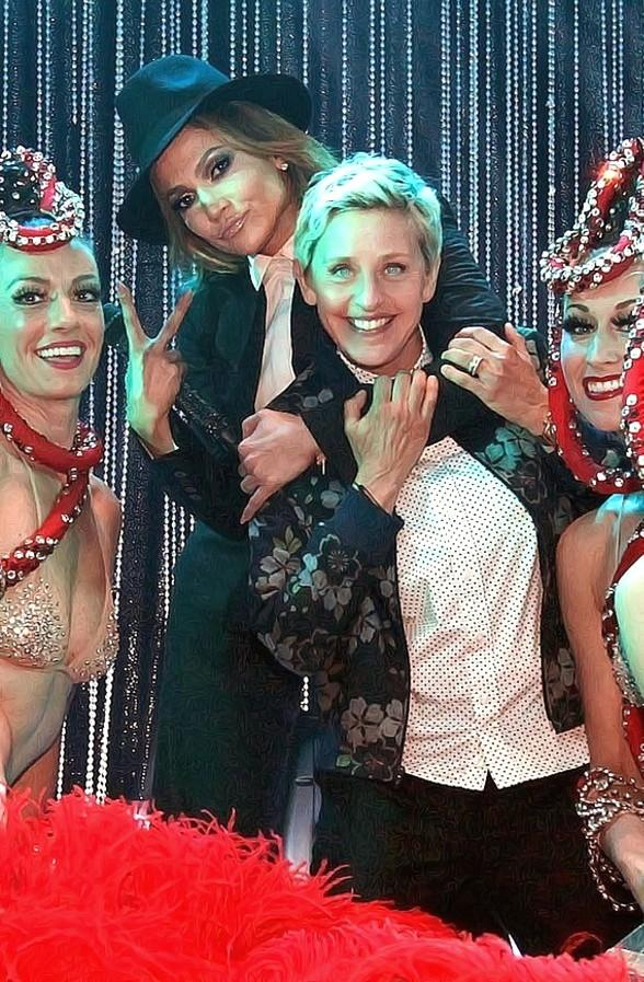 Jubilee Showgirls Perform with Jennifer Lopez on ELLEN