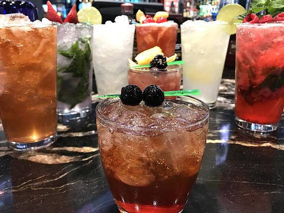 Golden Circle offers specialty drinks such as The Golden Margarita, Mule Kick and Jersey ChaserMojito
