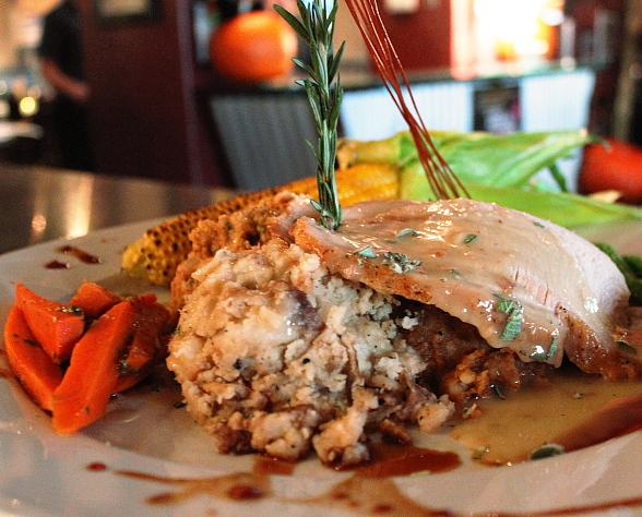 Turkey Dinner at Hash House A Go Go
