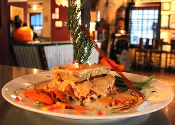 Stuffed Turkey Meatloaf at Hash House A Go Go