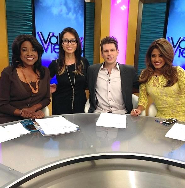 Four Queens Headliner Mike Hammer Guest Hosts on KTNV's Valley View Live!