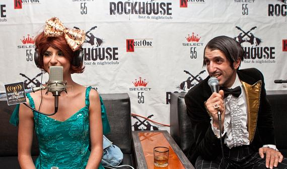 Absinthe stars Penny Pibbets and The Gazillionaire interviewed 'On Air with Robert with CC'