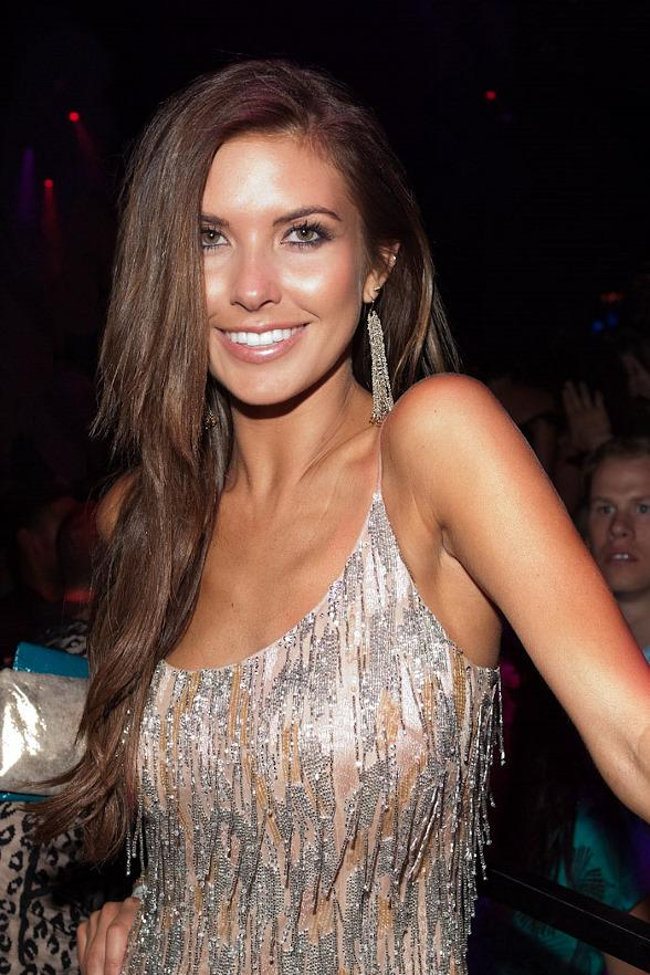 Audrina Patridge at Vanity Nightclub