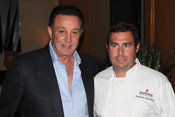 Tony Darrow with Charlie Palmer Steak Chef Steve Blandino
