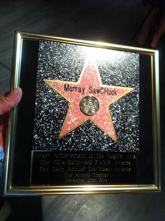 Murray' 'Career Achievement Award in the Magic Arts'