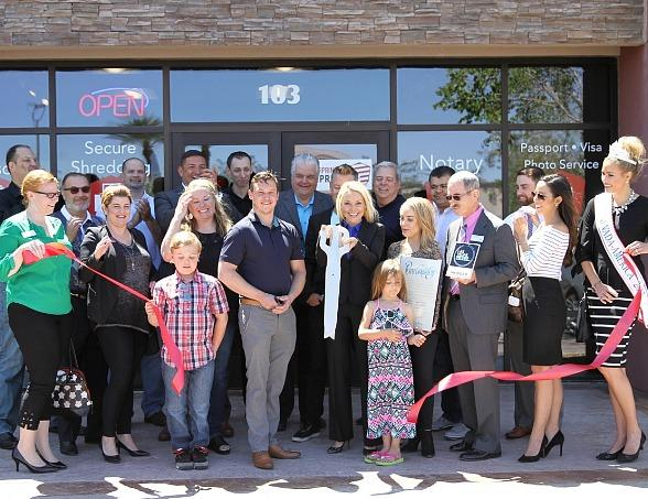 Fingerprinting Express Grand Opening in Las Vegas