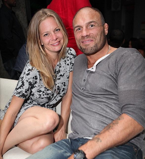 UFC Randy Couture Dines at N9NE Steakhouse