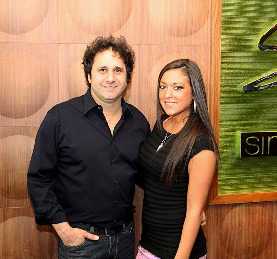 """George Maloof and Jersey Shore's Sammi """"Sweetheart"""" Giancola at Simon's Place"""
