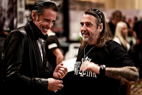 Mario Barth (on right) at 2011 Biggest Tattoo Show On Earth