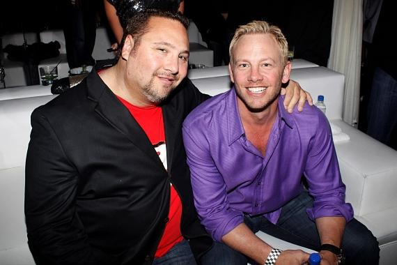Ian Ziering and Michael Politz at PURE