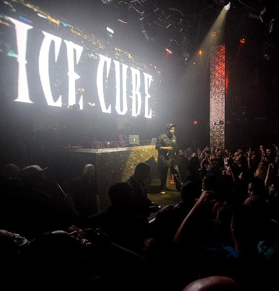 Ice Cube performs at TAO Nightclub in Las Vegas