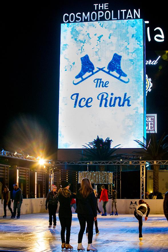 Ice Out Cancer Over Vegas With Scott Hamilton At The Rink Cosmopolitan Of Las