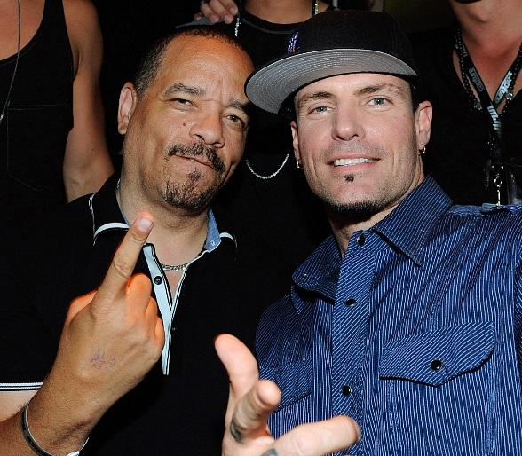 Ice-T and Vanilla Ice at Gallery Nightclub at Planet Hollywood Resort & Casino in Las Vegas