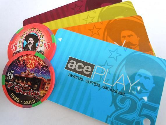 New 25th Anniversary commemorative gaming chips and player's card