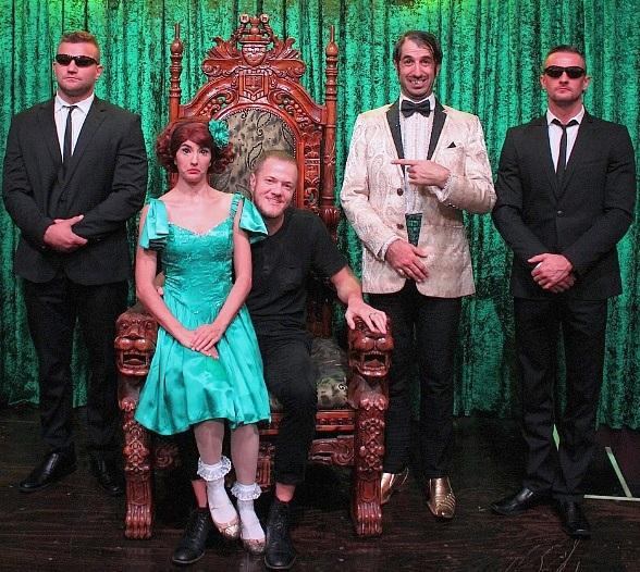 Imagine Dragons Frontman Dan Reynolds Attends ABSINTHE at Caesars Palace