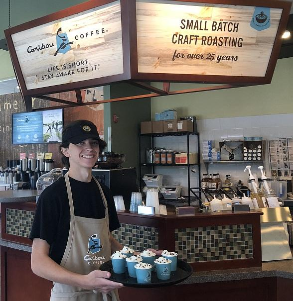 Caribou Coffeehouses Now Opening Inside Las Vegas Area Einstein Bros. Bagels