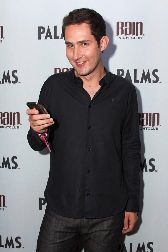 Instagram co-founder and CEO Kevin Systrom at Rain  Nightclub