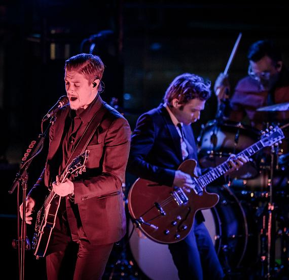 """Interpol performs at Boulevard Pool at The Cosmopolitan of Las Vegas as part of """"Set Your Life To Music"""""""