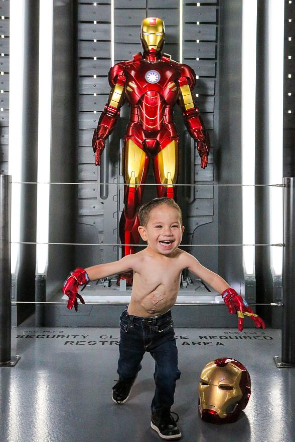 Meet Ezekiel, The 2-Year-Old Iron Man From Las Vegas