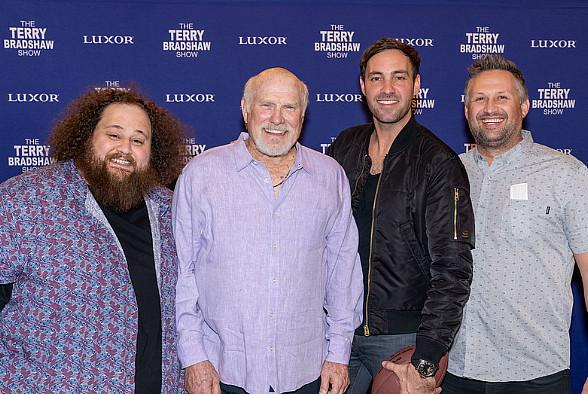 """Jeff Dye and JC Currais Attend """"The Terry Bradshaw Show"""""""