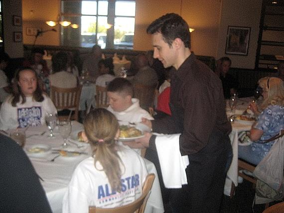 JERSEY BOYS Rick Faugno serving the After School All Stars